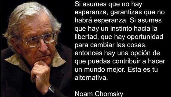 Resultado de imagen para Noam Chomsky