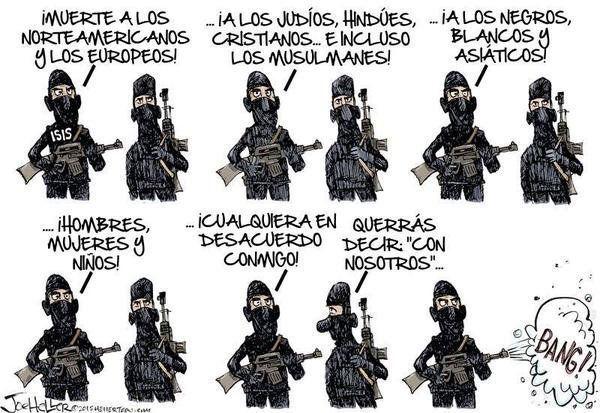 Terrorismo yihadista- seis puntos a tener en cuenta