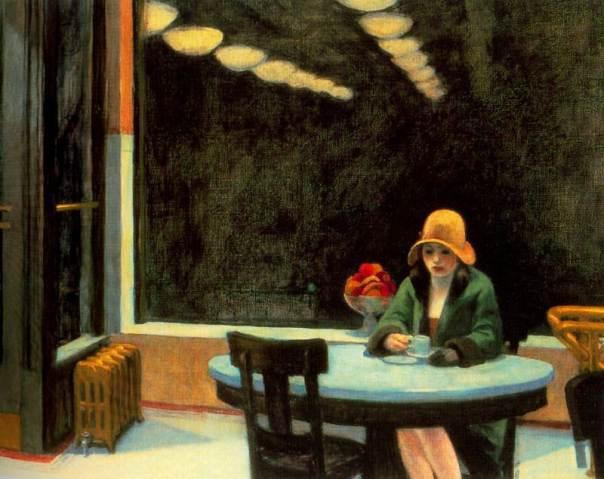Automat 1927 Edward Hopper