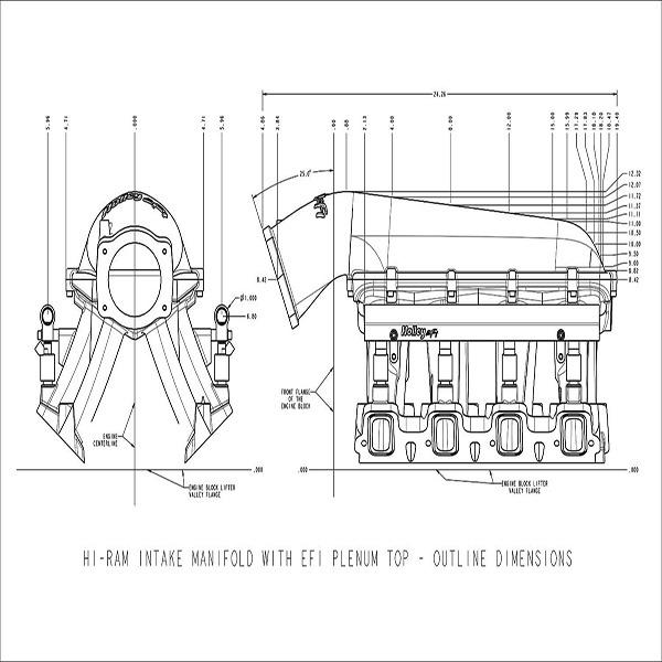 Holley LS Hi-Ram EFI Manifold