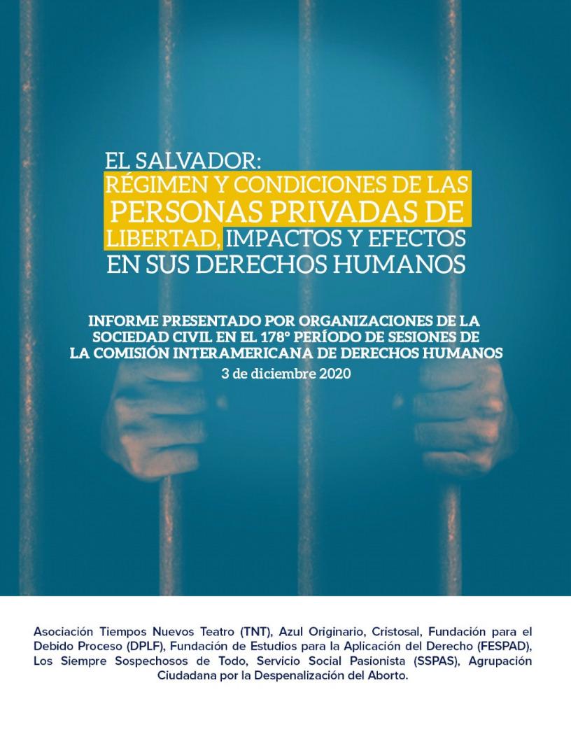 Informe CIDH – El Salvador