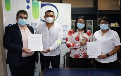 Firma de Carta de Entendimiento entre la empresa Molinos de El Salvador S.A. de C.V y Servicio Social Pasionista