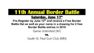 11th Annual Border Battle Graphic