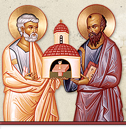 SS Peter and Paul holding Church