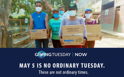 Giving Tuesday, May 5