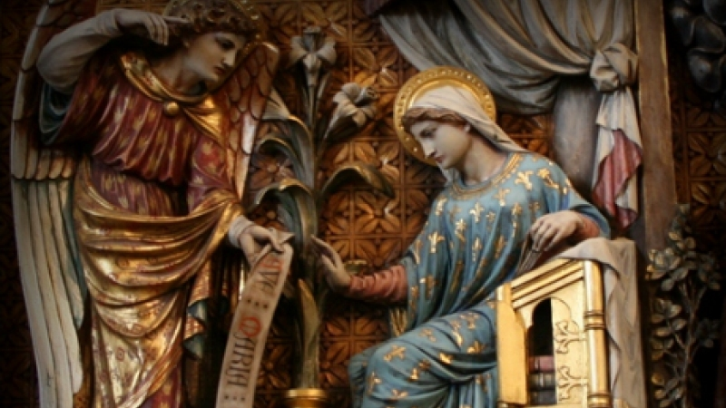 mass lessons from annunciation