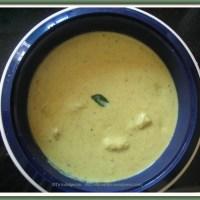 Mor kuzhambu(yoghurt gravy)