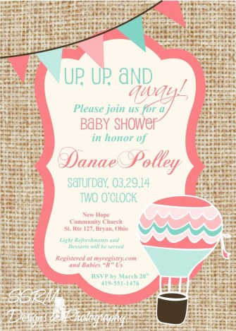 Danae Polley Baby Shower Invite 1