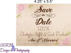 Sarah Branham & Christopher Steffel Save The Dates