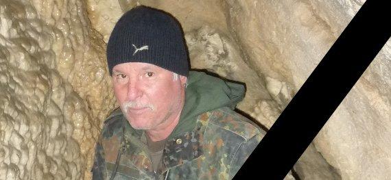 """, ✝ Ing. Ľubomír Ivančík """"Biely otec"""", 1955 – 2019, Slovenská speleologická spoločnosť"""