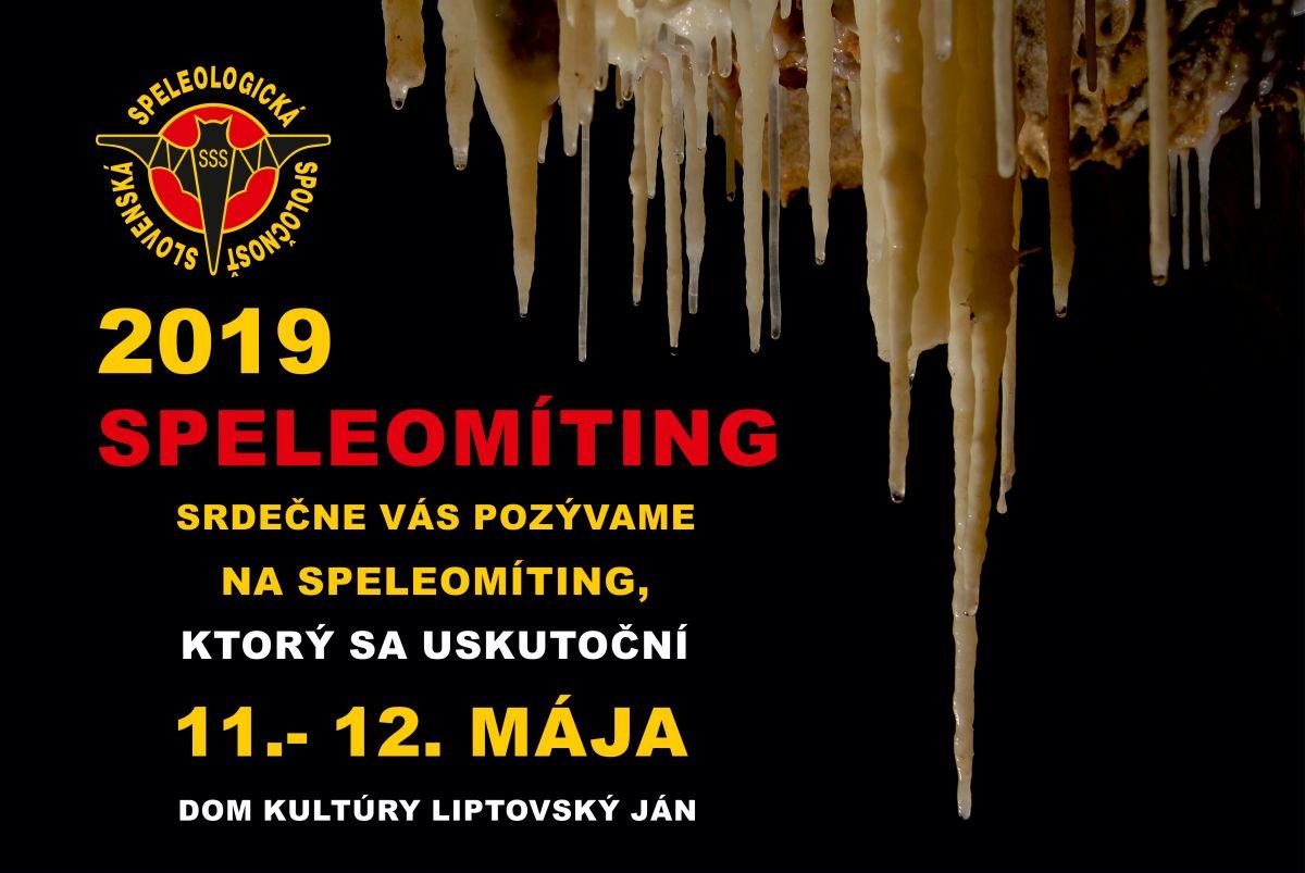 , Speleomíting 2019 – info, Slovenská speleologická spoločnosť, Slovenská speleologická spoločnosť