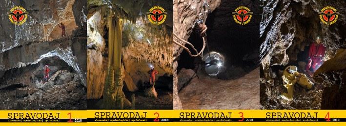 spravodaje, Pribudli spravodaje 2018 v pdf, Slovenská speleologická spoločnosť, Slovenská speleologická spoločnosť