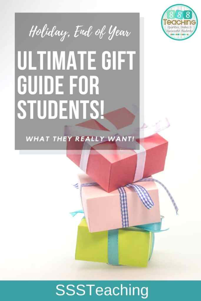 Best Gifts For Your Students Holiday Christmas End Of Year Sssteaching