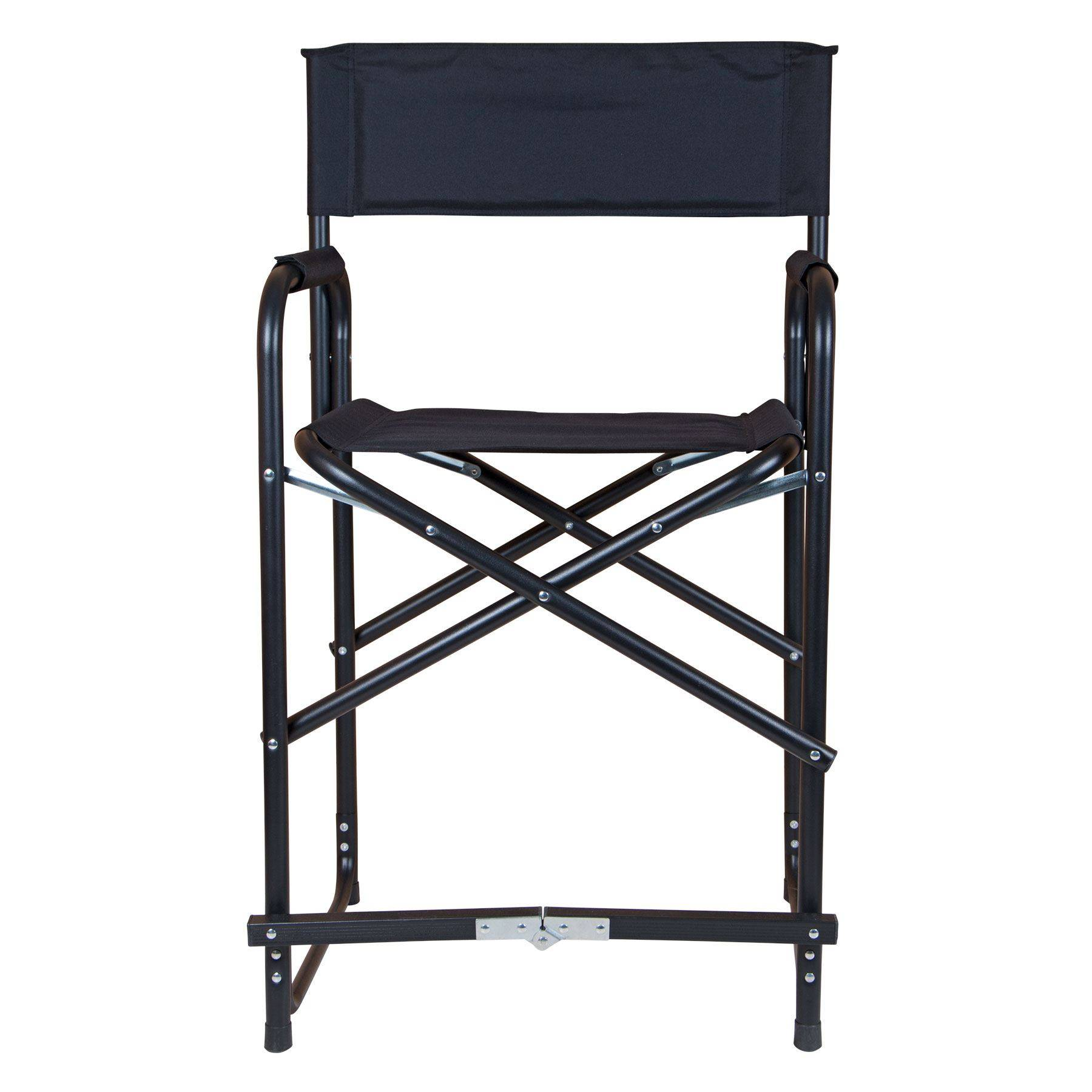 Tall Director Chairs Dura Tech Tall Folding Director 39s Chair In Stall Drapes