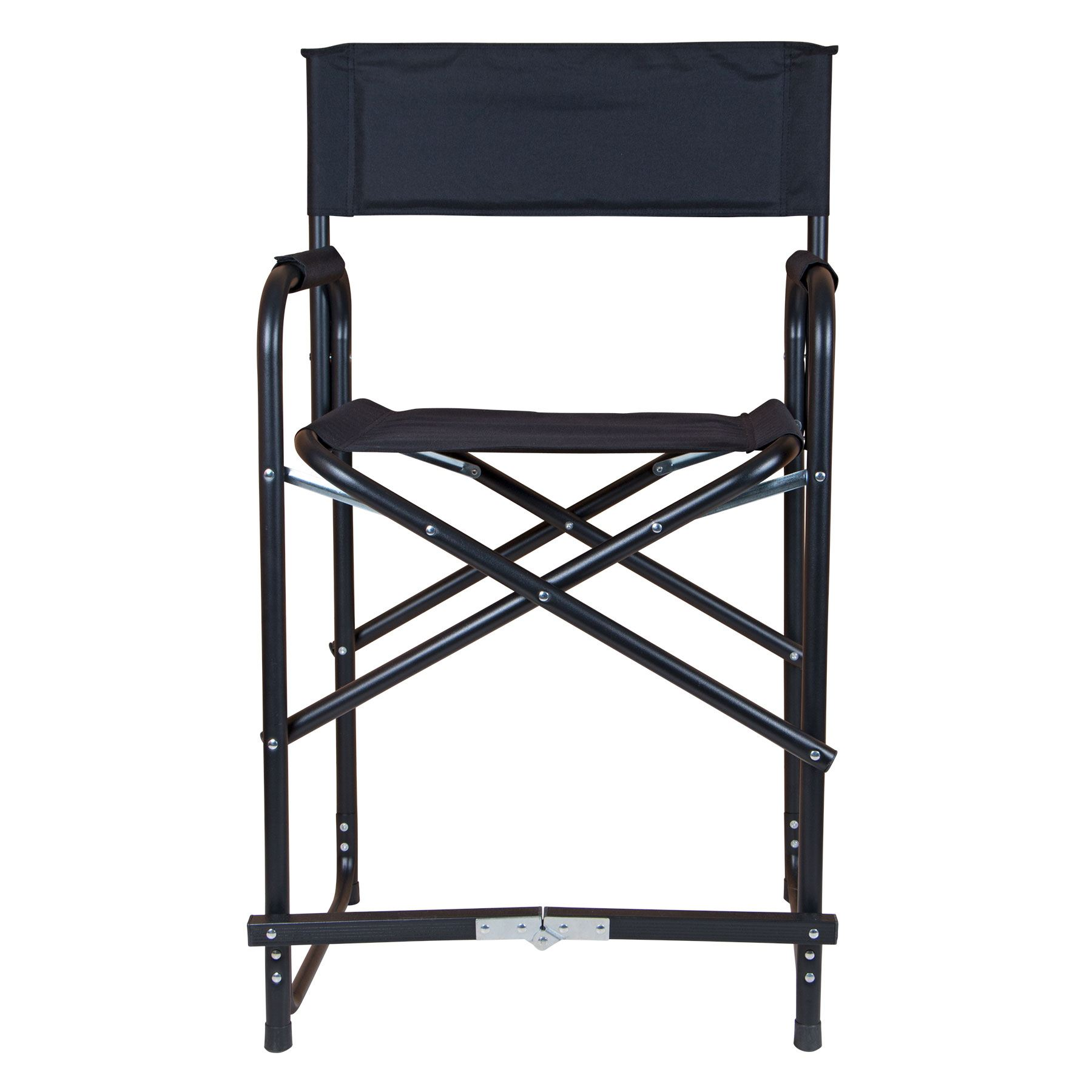 Tall Chair Dura Tech Tall Folding Director 39s Chair In Stall Drapes