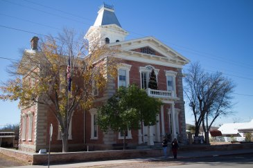 The Courthouse Museum, Tombstone, Arizona. The Courthouse is a beautiful building all by itself.