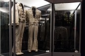 Some of Elvis's wilder costumes are housed in the Racquetball Building behind the main house.