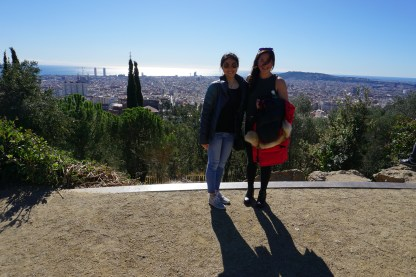 An old man approached us and asked if we wanted our photo taken. So he took our photo, then proceeded to tell us about all the landmarks we could see from Park Güell (for the next ten minutes). It was sweet! He had so much pride in his city.