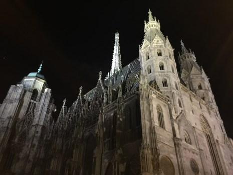While out looking for gelato one night, we stumbled upon Saint Stephen's Cathedral! Preparing for their Easter Mass the next day, too!