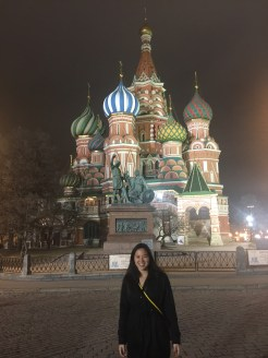 St. Basil's Cathedral + me