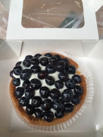 scrumptious blueberry tart
