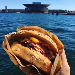THE MOST DELISH: sandwich w/ salmon, pumpkin spread, quinoa w beets, and broccoli cucumber salad!!!
