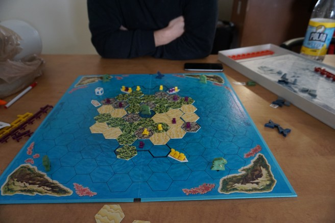 Anton and I play a lot of board games :)