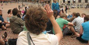 Travel study tour visits Siena, Italy
