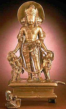 Vishnu prima parte Vishnu%20caturmurti%20atLos%20Angeles%20County%20Museum%20of%20Art,%20Los%20Angeles,%20California,%20USA