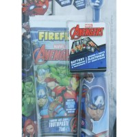 This Avengers Turbo Max Electric Toothbrush & Toothpaste Set is perfect for any Captain America fans.
