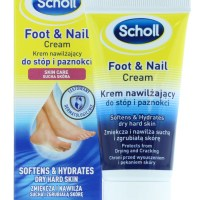 Scholl Foot & Nail Cream 60ml is the perfect product for softening and hydrating dry hard skin that may appear on your feet.
