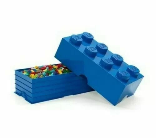 LEGO storage provides an interesting angle on tidying up - it is like playing. You can actually stack the storage boxes like you are used to with regular LEGO bricks. It gives you a new and exciting way of doing interior decorating as well as the practical purpose of keeping everything tidy.