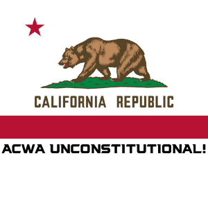 CA Assault Weapons Ban is Unconstitutional
