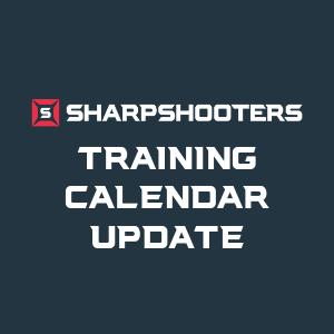 Training Calendar Update