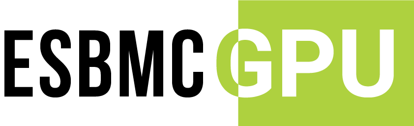 ESBMC – Efficient SMT-Based Context-Bounded Model Checker – GPU