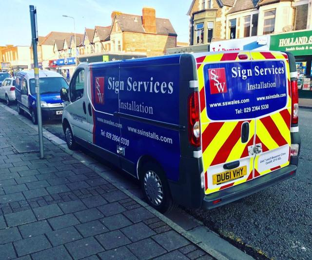 Both vans on the road for an early survey this morning