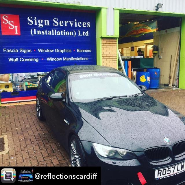 Repost from @reflectionscardiff using @RepostRegramApp – Sunstrip fitted in time for a trip to the Nurburgring. Happy customer
