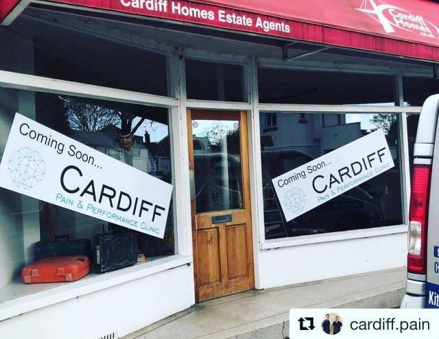 @cardiff.pain with @get_repost ・・・ Work is finally underway at the new clinic!  We are so excited to share the progress with you along the way, as we convert the property into a clinic fit for Cardiff Pain and Performance standards.  Expect updates over the coming days and check in with us for final move in dates.  We are aiming for April 9th as opening day!  Location : Waungron Road, Llandaff, Cardiff