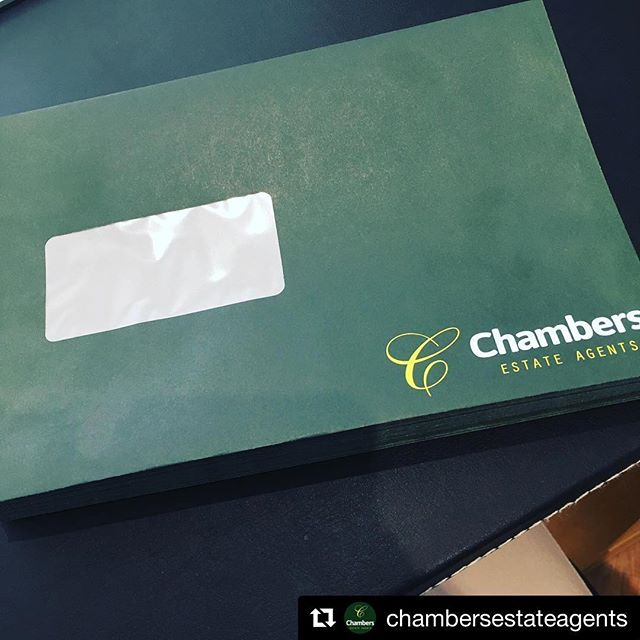 @chambersestateagents with @get_repost ・・・ Top quality envelopes designed and delivered by @sign_services ?