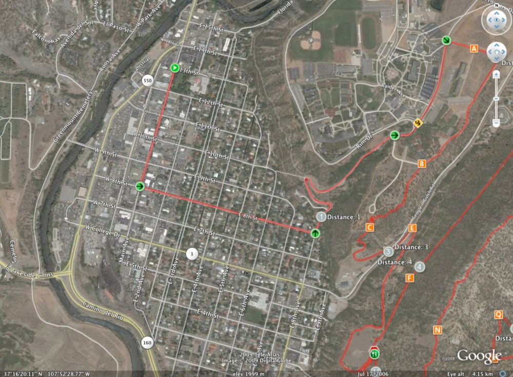SSWC09 Course Map (2/3)