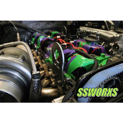 2jzgte Engine Lift Hooks SSworxs - SSWORXS