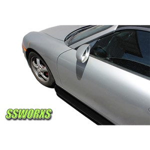 Porsche Boxster 986 Side skirt Extensions