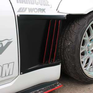 Mercury Z Project GT3 Z33 350z Side Fender Ducts