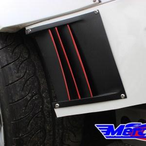 Mercury Z Project Rear Bumper Ducts