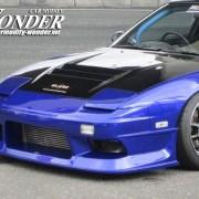 Car Modify Wonder 180sx Glare Hood 3 Lotus vent 2