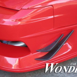 Wonder GLARE FRONT BUMPER OPTION TYPE 1D