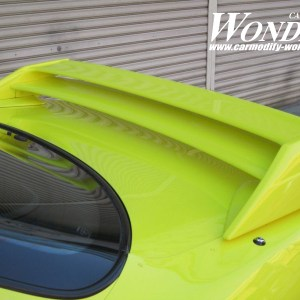 Glare Nissan Silvia S14 Twin Blade Rear Wing