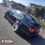 N-style custom aristo gs300 fender flare 6a
