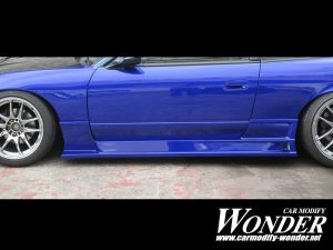 GLARE S13 SILVIA SIDE SKIRTS NISSAN 240SX