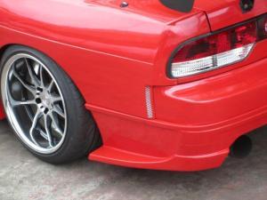 GLARE 240SX 180SX SD 50MM REAR FENDERS